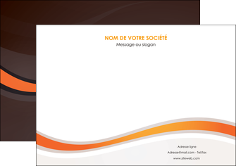 impression affiche web design orange gris texture MIF77233