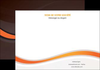 cree affiche web design orange gris texture MIF77235