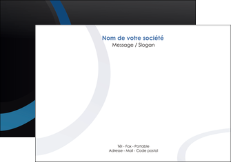 exemple flyers web design noir fond noir bleu MLGI78681