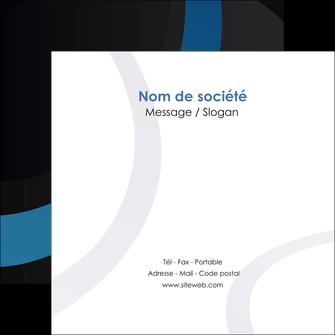 creer modele en ligne flyers web design noir fond noir bleu MLGI78689