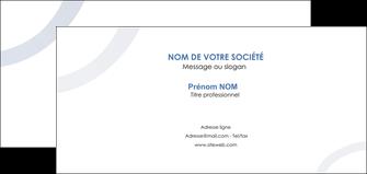 modele carte de correspondance web design noir fond noir bleu MLGI78695