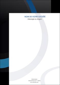 creer modele en ligne affiche web design noir fond noir bleu MLGI78711