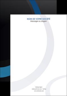 creation graphique en ligne flyers web design noir fond noir bleu MLGI78717