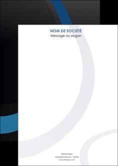 maquette en ligne a personnaliser affiche web design noir fond noir bleu MLGI78723