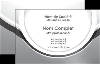 modele en ligne carte de visite web design gris fond gris rond MLIG78949