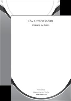 maquette en ligne a personnaliser flyers web design gris fond gris rond MIS78953