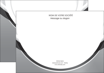 personnaliser modele de affiche web design gris fond gris rond MIS78971