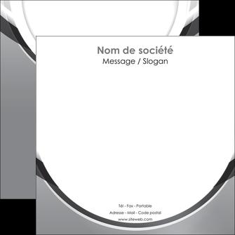 impression flyers web design gris fond gris rond MLIG78981