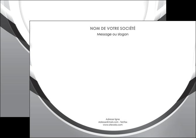 creer modele en ligne flyers web design gris fond gris rond MLIG78983