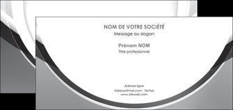 exemple carte de correspondance web design gris fond gris rond MLIG78987