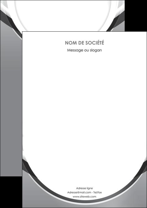 modele affiche web design gris fond gris rond MLIG78991