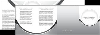 modele en ligne depliant 4 volets  8 pages  web design gris fond gris rond MLIG78993