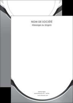 creer modele en ligne flyers web design gris fond gris rond MLIG78995