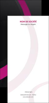 personnaliser modele de flyers web design noir fond noir violet MIF79001