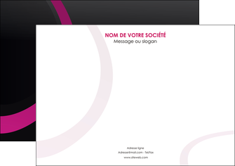 personnaliser maquette affiche web design noir fond noir violet MIF79003