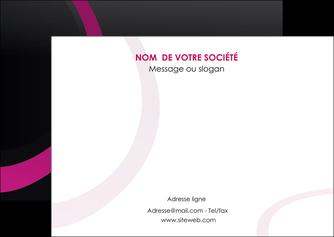 realiser flyers web design noir fond noir violet MLIG79009