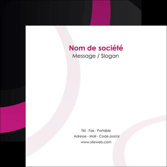 impression flyers web design noir fond noir violet MIF79013