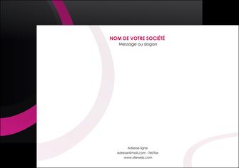 cree flyers web design noir fond noir violet MIF79015