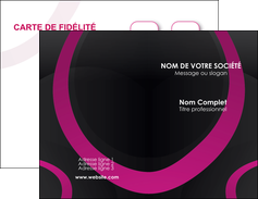 Commander Carte de visite papier de couleur Web Design Carte commerciale de fidélité papier publicitaire et imprimerie Carte de visite Double - Portrait
