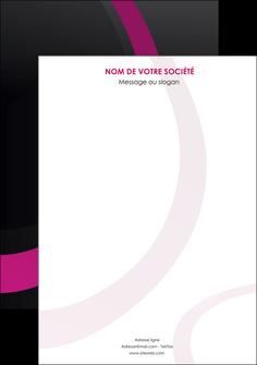 creer modele en ligne affiche web design noir fond noir violet MIF79035