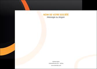 modele affiche web design noir orange texture MIF79107