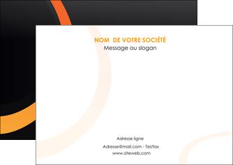 imprimerie flyers web design noir orange texture MIF79113