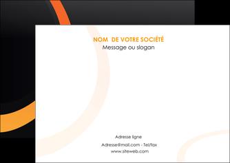 imprimerie flyers web design noir orange texture MLGI79113