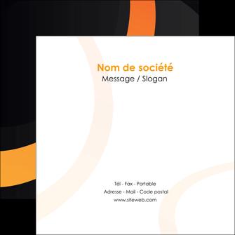 creer modele en ligne flyers web design noir orange texture MLGI79117