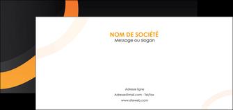 maquette en ligne a personnaliser flyers web design noir orange texture MIF79121