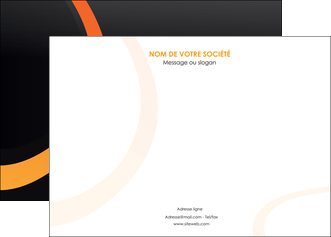 personnaliser maquette affiche web design noir orange texture MIF79127