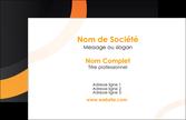modele carte de visite web design noir orange texture MLIP79147
