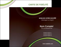 Impression cartes de visites verticale vernis selectif Web Design Carte commerciale de fidélité cartes-de-visites-verticale-vernis-selectif Carte de visite Double - Portrait
