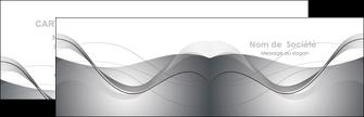 faire modele a imprimer carte de visite web design gris fond gris texture MIF79439