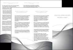 imprimer depliant 3 volets  6 pages  web design gris fond gris texture MIF79457