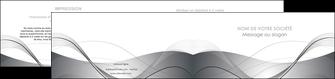 personnaliser maquette depliant 2 volets  4 pages  web design gris fond gris texture MIF79467