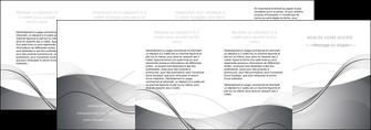 faire modele a imprimer depliant 4 volets  8 pages  web design gris fond gris texture MIF79479