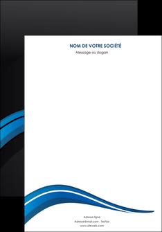 modele affiche web design bleu couleurs froides gris MIF79551