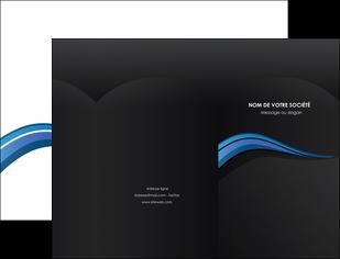creer modele en ligne pochette a rabat web design bleu couleurs froides gris MIF79557