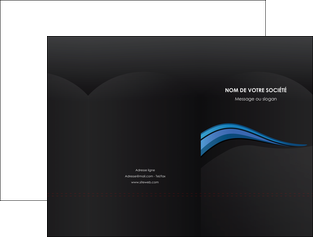 cree pochette a rabat web design bleu couleurs froides gris MLGI79559