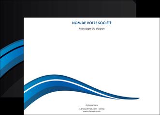 exemple affiche web design bleu couleurs froides gris MIF79565