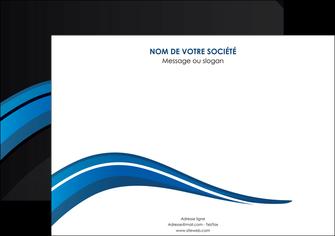 realiser affiche web design bleu couleurs froides gris MIF79567