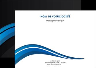creer modele en ligne flyers web design bleu couleurs froides gris MLGI79573