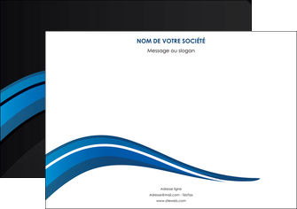 imprimer flyers web design bleu couleurs froides gris MIF79579