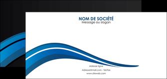 personnaliser modele de flyers web design bleu couleurs froides gris MIF79581