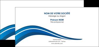 faire modele a imprimer carte de correspondance web design bleu couleurs froides gris MIF79583