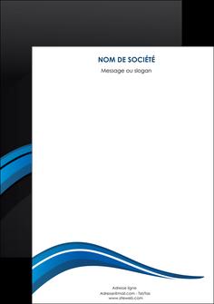 personnaliser maquette affiche web design bleu couleurs froides gris MIF79587