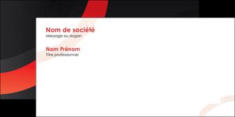 exemple enveloppe web design rouge rond abstrait MLGI79669