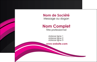 modele en ligne carte de visite web design violet fond violet arriere plan MIF80297