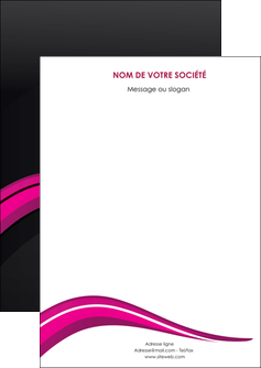 realiser flyers web design violet fond violet arriere plan MIF80301