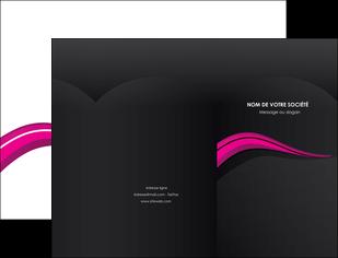 creer modele en ligne pochette a rabat web design violet fond violet arriere plan MIF80309